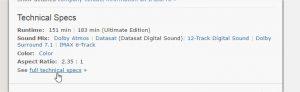 comment reconnaître les vrais et les faux ultra bluray 4k - Batman v Superman Laube de la justice 2016 2 IMDb Google Chrome 300x92 - [UHD] Comment reconnaître les vrais et les faux Ultra Bluray 4K, voici la vérité sur les 4K en vente début 2017 - idroid.fr