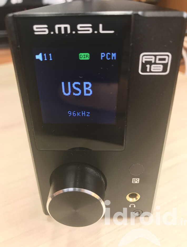 amplificateur numérique dac smsl ad18, un ampli de qualité audiophile pour 110€ - Idroidfr 5 - [HIFI] Amplificateur numérique Dac SMSL AD18, un ampli de qualité audiophile pour 110€ ! - idroid.fr