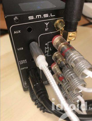 amplificateur numérique dac smsl ad18, un ampli de qualité audiophile pour 110€ - Idroidfr 6 320x420 - [HIFI] Amplificateur numérique Dac SMSL AD18, un ampli de qualité audiophile pour 110€ ! - idroid.fr