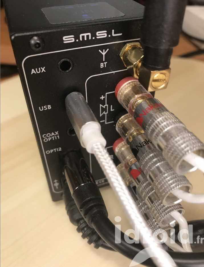 amplificateur numérique dac smsl ad18, un ampli de qualité audiophile pour 110€ - Idroidfr 6 - [HIFI] Amplificateur numérique Dac SMSL AD18, un ampli de qualité audiophile pour 110€ ! - idroid.fr