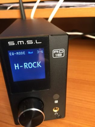 amplificateur numérique dac smsl ad18, un ampli de qualité audiophile pour 110€ - SMSL AD18 Idroid - [HIFI] Amplificateur numérique Dac SMSL AD18, un ampli de qualité audiophile pour 110€ ! - idroid.fr