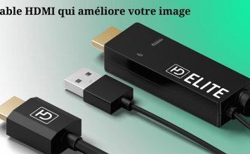 Comment améliorer la qualité d'image de votre TV pour moins de 40€ avec un câble HDMI upscaler