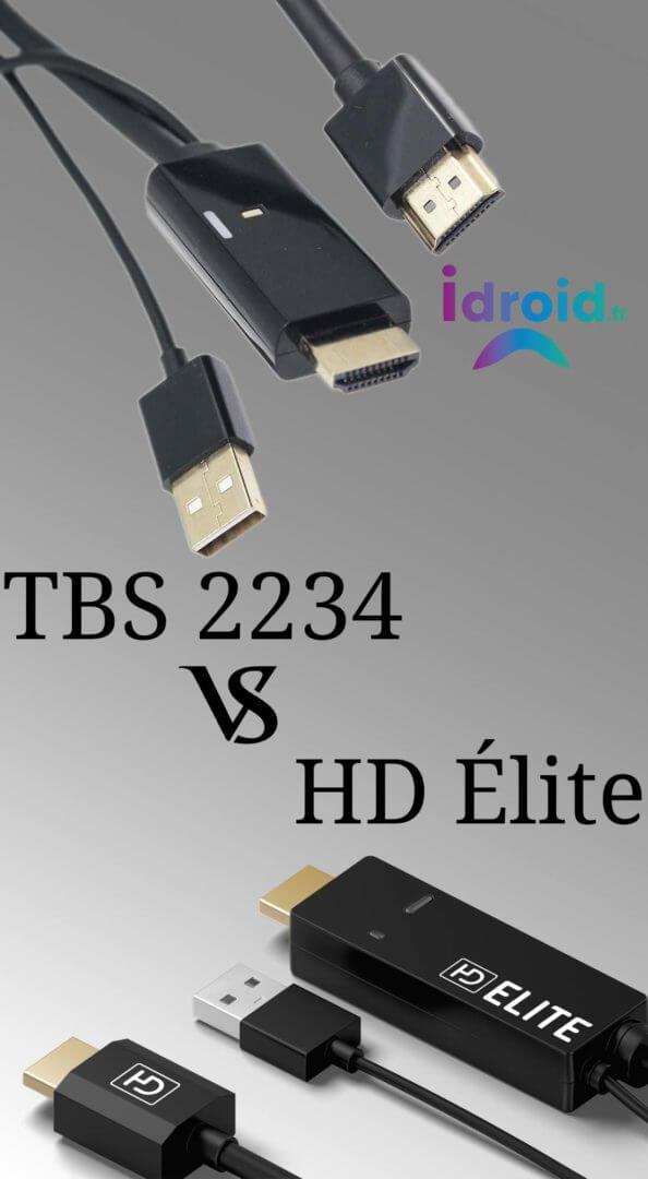 Améliorer la qualité d'image sur votre TV : Comparatif câbles HDMI upscaler UHD 4K actifs TBS2234 et HDElite
