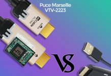 Comparatif câble HDMI actif, Mcable (VTV-2223) Vs TBS2234 (VTV-2222)