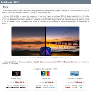 pourquoi devez-vous acheter du matériel vidéo en hdmi 2.1 ? - D  finition de HDR10 300x300 - [UHD] Pourquoi devez-vous acheter du matériel vidéo en hdmi 2.1 ? - idroid.fr
