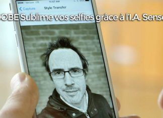 I.A. Sensei : Adobe sort une application ultime pour des selfies parfaits