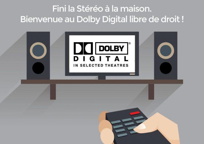 Le Dolby Digital devient libre de droits en 2017 !