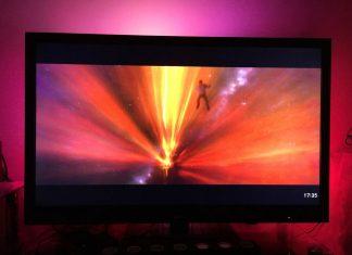 Le lightberry une immersion visuelle, meilleure que l'ambilight et adaptable sur toutes les TV !