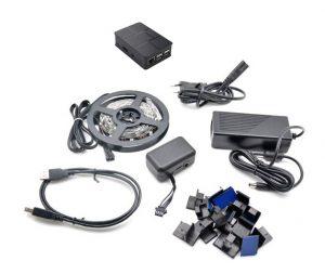 Le lightberry une immersion visuelle,bien meilleure que l'ambilight : car il comprend beaucoup plus de led et une réactivité plus véloce et en plus, il est adaptable sur toutes les TV !