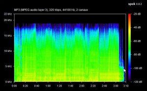 logiciel pour détecter vos fichiers musiques mp3 flac de mauvaise qualité : spek - mauvais en dessous de 256kbps 9 300x186 - [LOGICIEL] Logiciel pour détecter vos fichiers musiques MP3 Flac de mauvaise qualité : Spek - idroid.fr