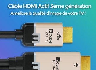 Mcable : câble HDMI actif de 3ème génération : vidéo déballage