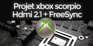 La xbox Scorpio sera en hdmi 2.1 et avec la technologie FreeSync