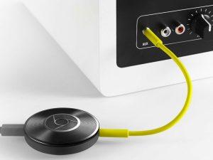 la chromecast est toujours d'actualité : onkyo et pioneer sortent un firmware compatible cast ! - chromecast audio 300x225 - [TECH] La Chromecast est toujours d'actualité : Onkyo et Pioneer sortent un firmware compatible Cast ! - idroid.fr