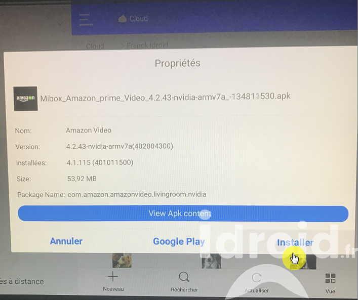 [tuto] mibox 3 tv installer l'application amazon prime vidéo - Idroidfr 21 - [TUTO] Mibox 3 TV installer l'application Amazon prime vidéo - idroid.fr