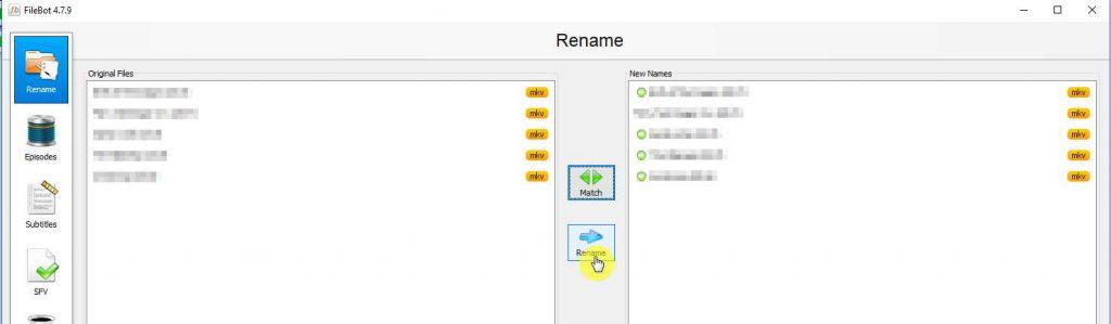 renommer facilement vos séries et films pour kodi et plex avec filebot sur windows 10 - Idroidfr renommer media 6 1024x299 - [TUTO] Renommer facilement vos séries et films pour KODI et PLEX avec Filebot sur Windows 10 - idroid.fr