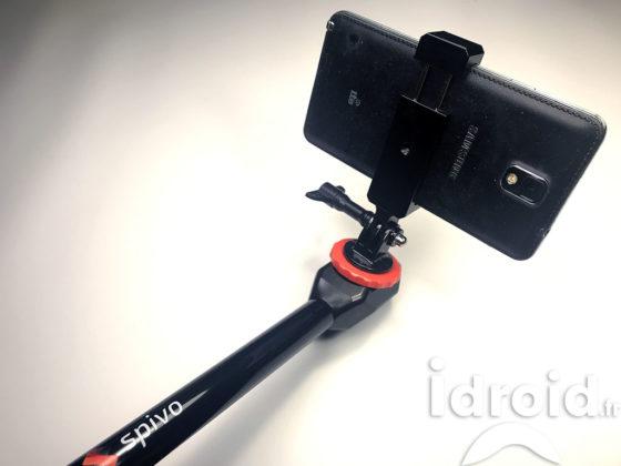 spivo 360 la perche à selfie ultime pour action cam et smartphone - Spivo 360 idroid - [REVIEW] Spivo 360 la perche à selfie ultime pour action Cam et smartphone - idroid.fr review template - Spivo 360 idroid - review template - idroid.fr
