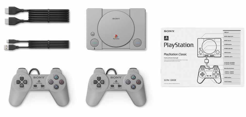 [news] la playstation mini de sony pour décembre avec 20 jeux à 99€ - playstation classique mini 2 - [NEWS] La Playstation Mini de Sony pour décembre avec 20 jeux à 99€ - idroid.fr