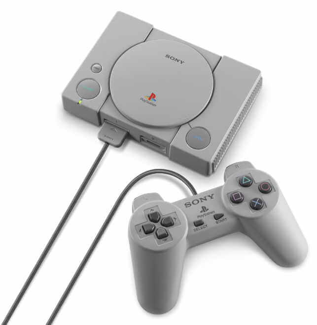 [news] la playstation mini de sony pour décembre avec 20 jeux à 99€ - playstation classique mini 4 - [NEWS] La Playstation Mini de Sony pour décembre avec 20 jeux à 99€ - idroid.fr