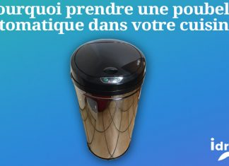 [Gadget] En cuisine la poubelle à détecteur de mouvement s'ouvre et se ferme toute seule