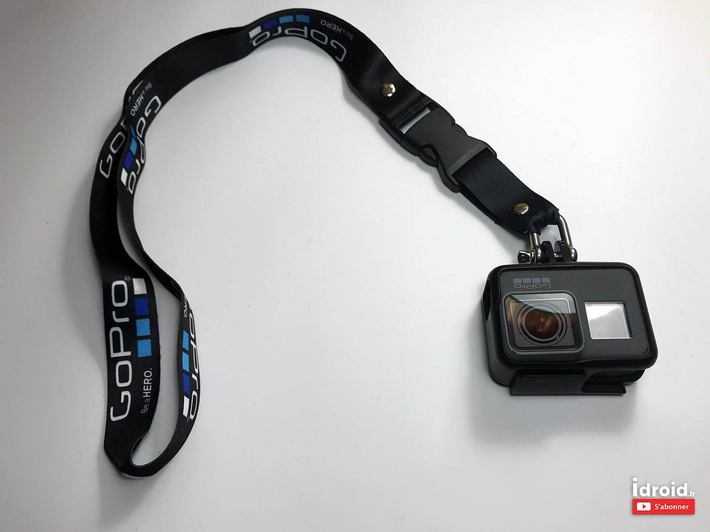 caméra gopro les accessoires indispensables pour actioncam - sangle gopro idroid - [SETUP] Caméra GOPRO les Accessoires indispensables pour actioncam - idroid.fr