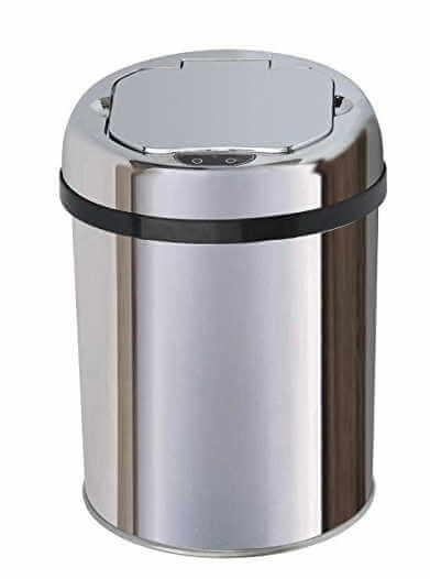 objets high-tech indispensables dans votre salle de bain de douche ou d'eau - poubelle high tech - [GUIDE] Objets High-tech indispensables dans votre salle de bain de douche ou d'eau - idroid.fr